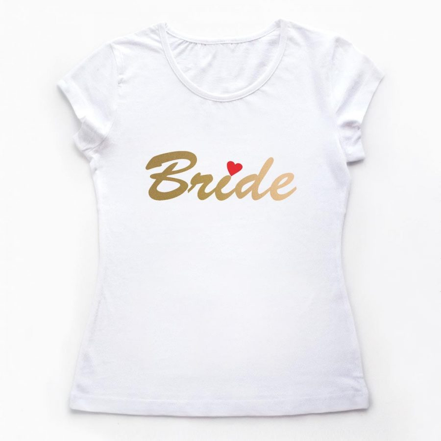 Tricouri petrecerea burlacitelor Bride night out - GOLD 1