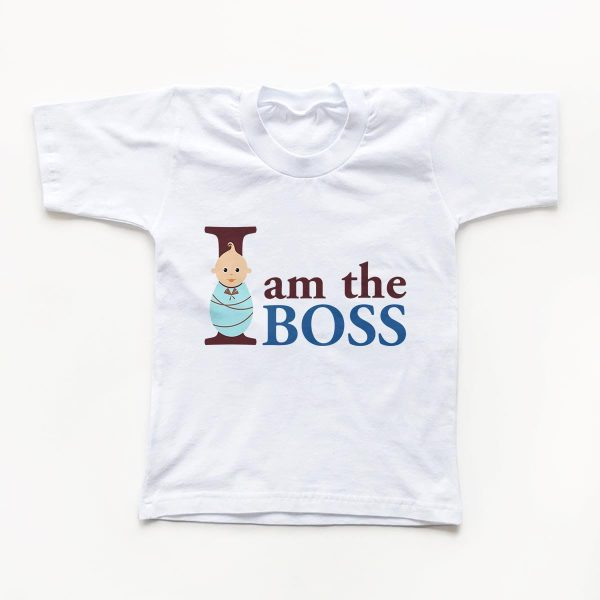 Tricouri copii I am the boss 1