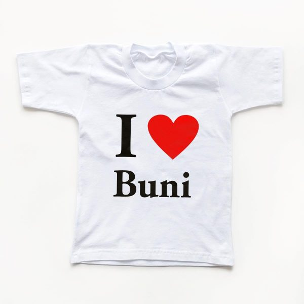 Tricouri copii I love buni 1