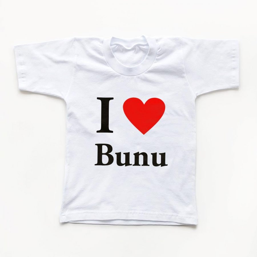 Tricouri copii I love bunu 1