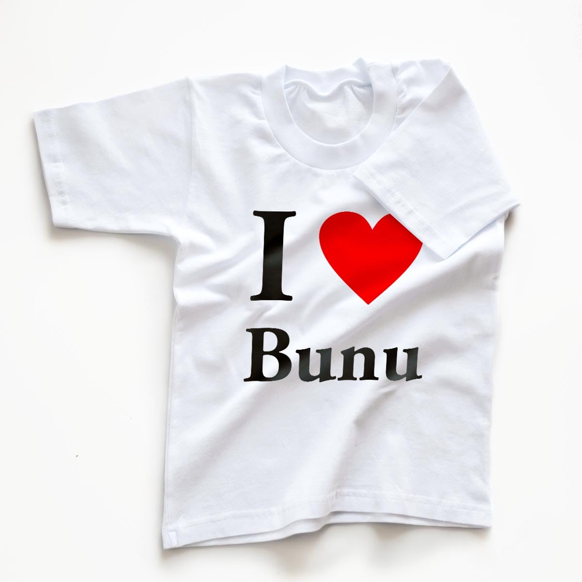 Tricouri copii I love bunu 3