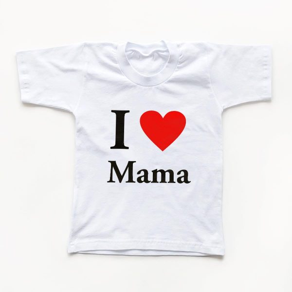Tricouri copii I love mama 1