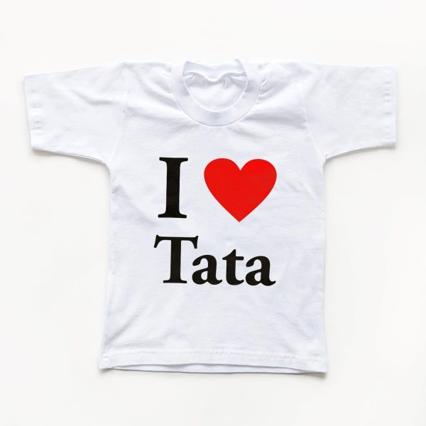 Tricouri copii I love tata 1