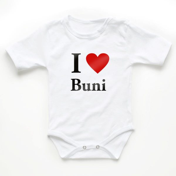 Body copii I love buni 1