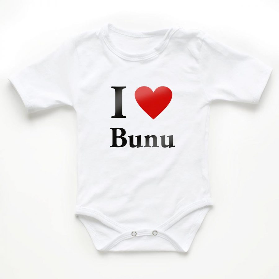 Body copii I love bunu 1