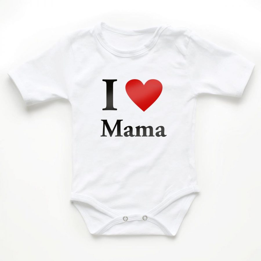 Body copii I love mama 1