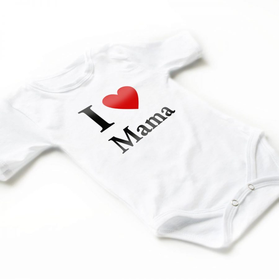 Body copii I love mama 6