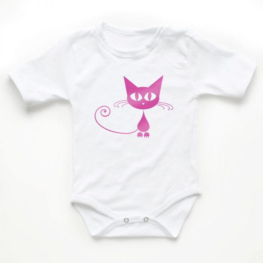 Body copii Pink cat 1