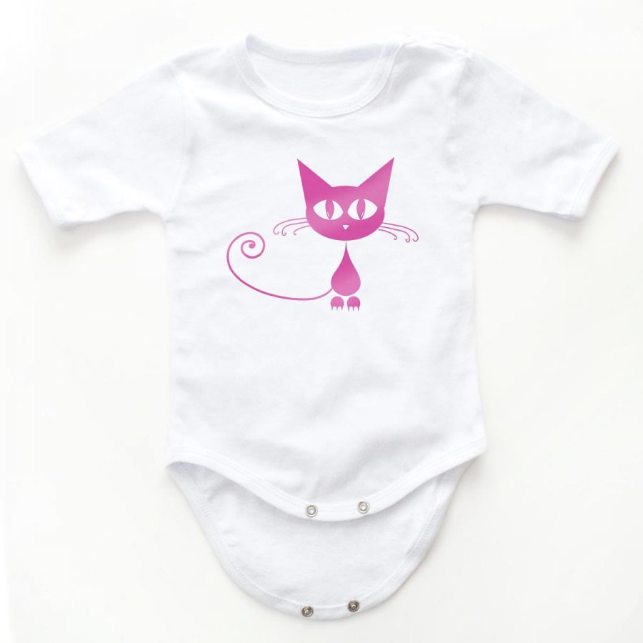 Body copii Pink cat 5