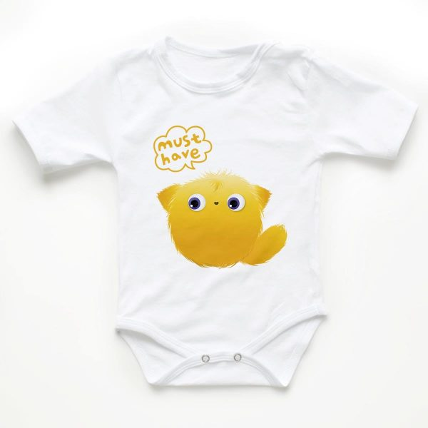 Body copii - Yellow Puff 1