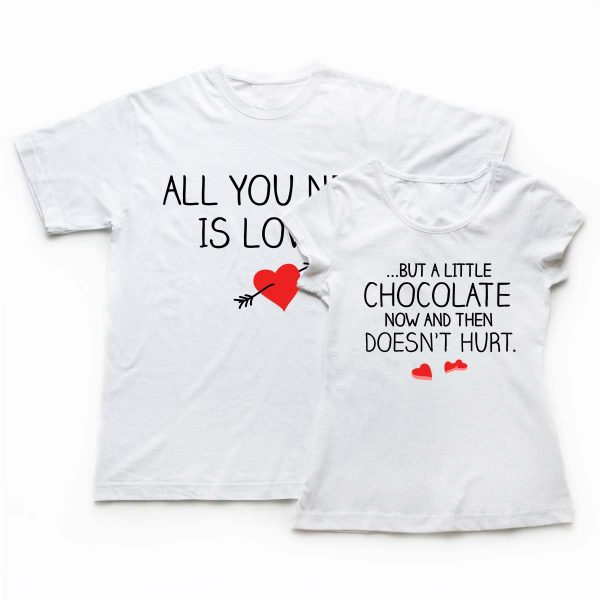 Tricouri cupluri - Chocolate Love 1