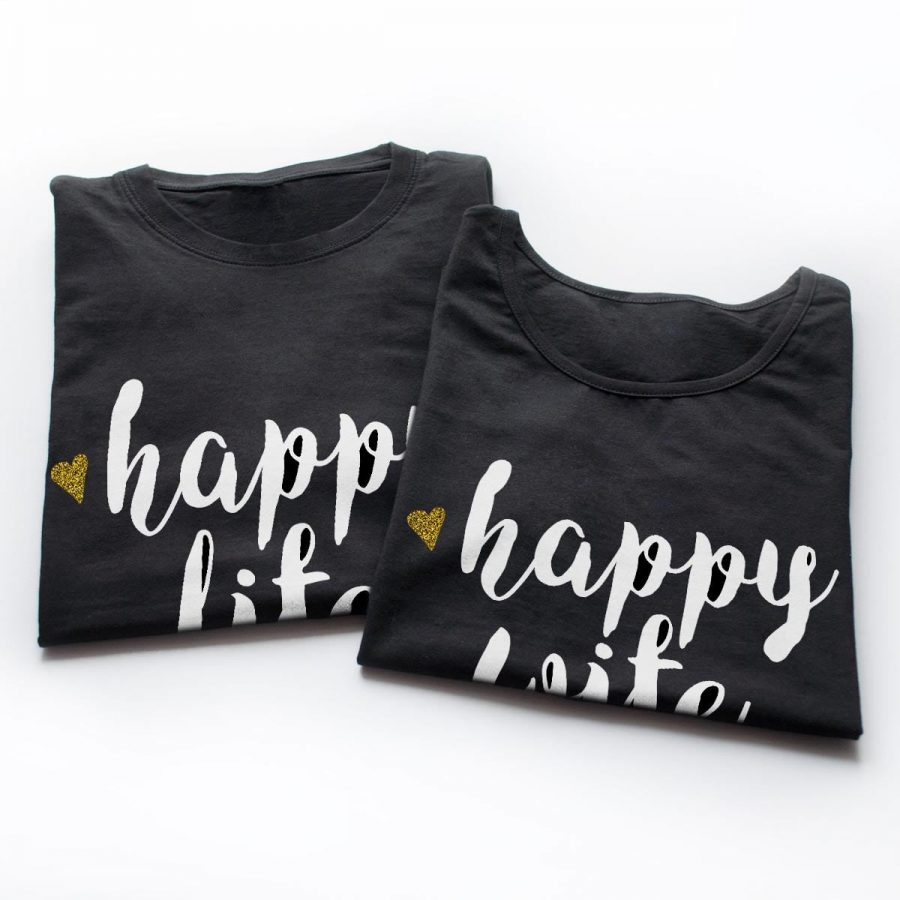 Tricouri cupluri - Happy Life 5