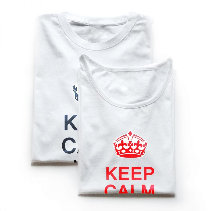 Tricouri cupluri - Keep Calm Love 3