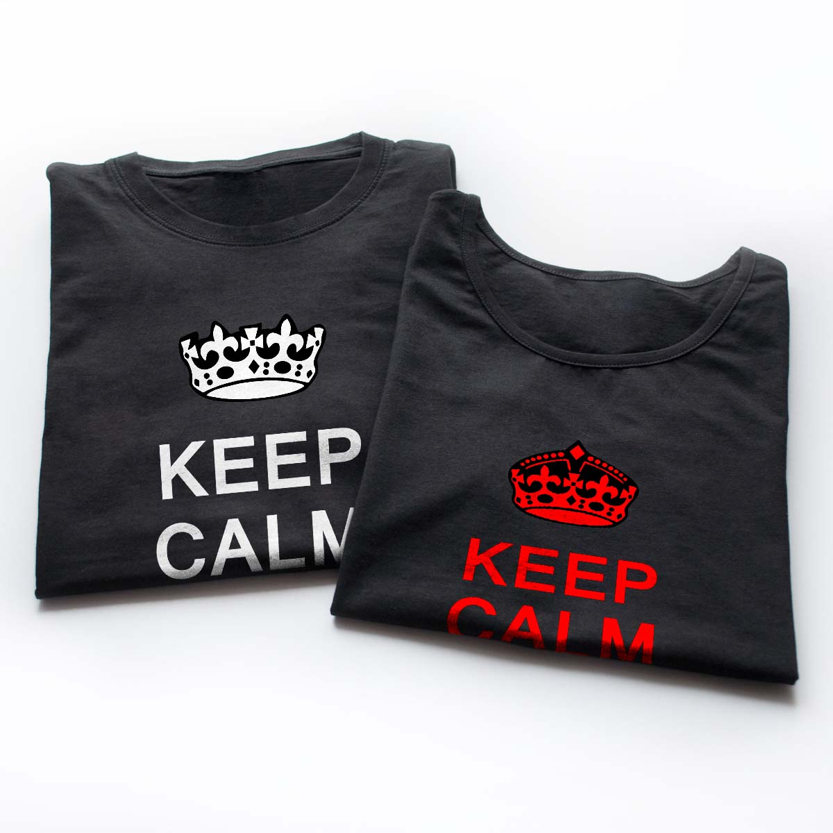 Tricouri cupluri - Keep Calm Love 6