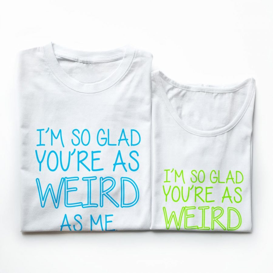 Tricouri cupluri - You are so weird 4