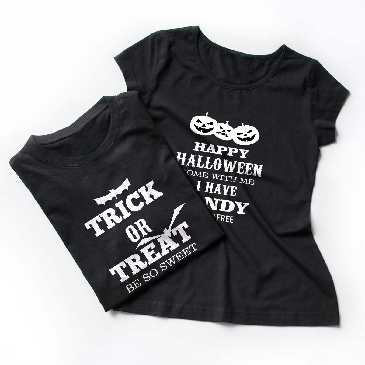 Tricouri cupluri - Trick or Treat 3