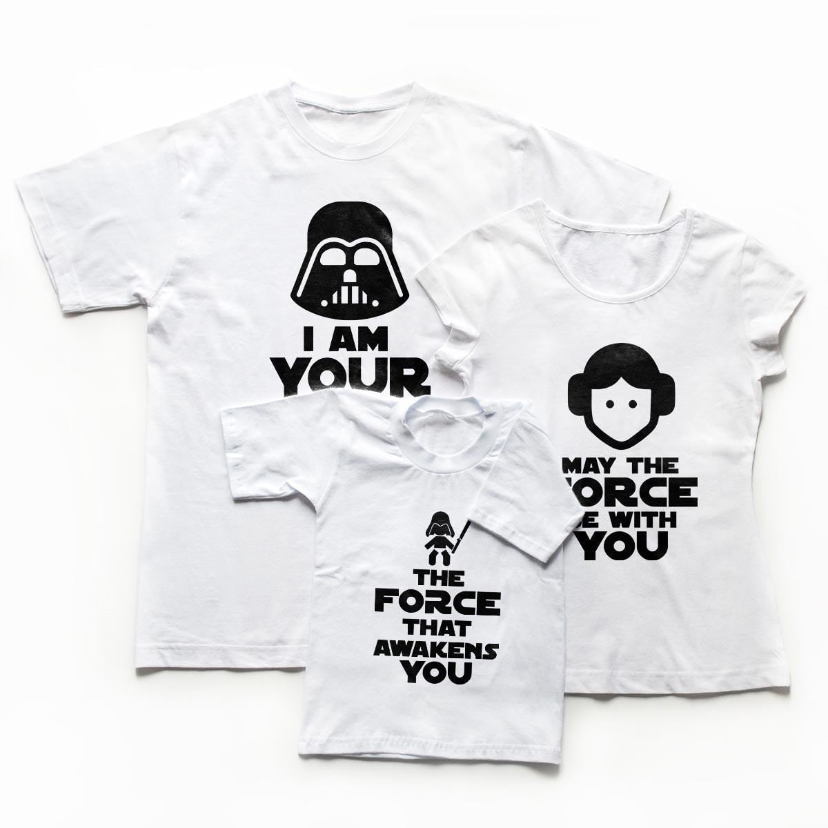 tricouri familie the force
