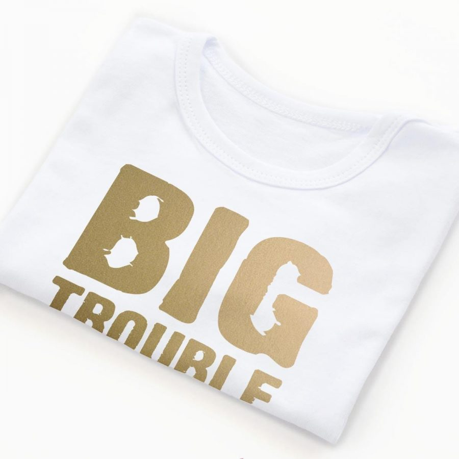 Body copii Set body BIG Trouble Gold - fetita 3