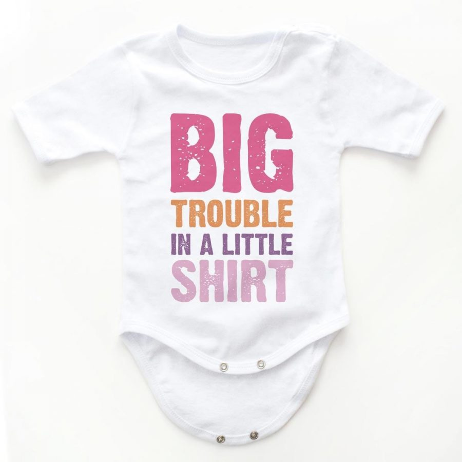 Body copii Set body BIG Trouble - fetita 2