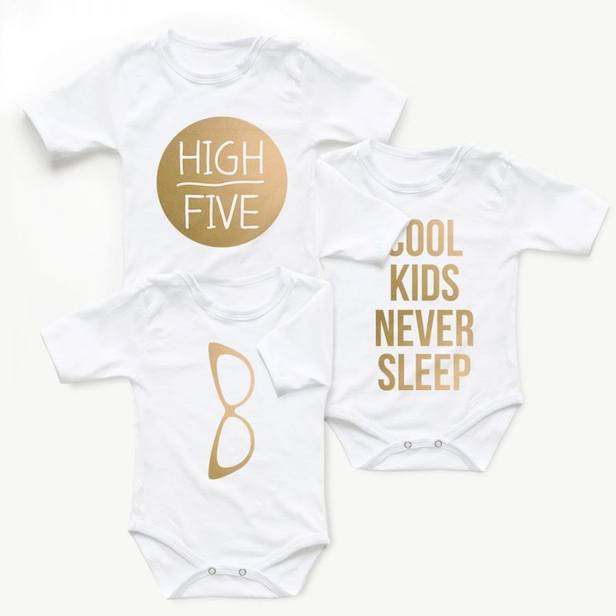 Body copii Set body Cool Kid Gold - fetita 1