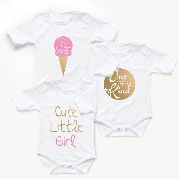 Body copii Set body So Sweet Gold - fetita 1