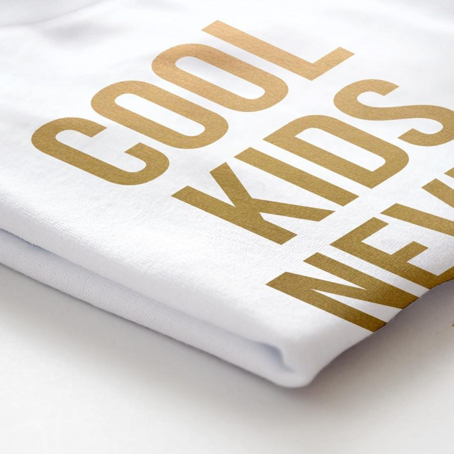 Tricouri copii - Set tricouri Cool Kid Gold - fetita2