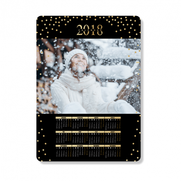 Calendar magnetic Golden Year