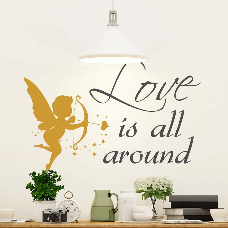 Sticker decorativ Cupidon 1