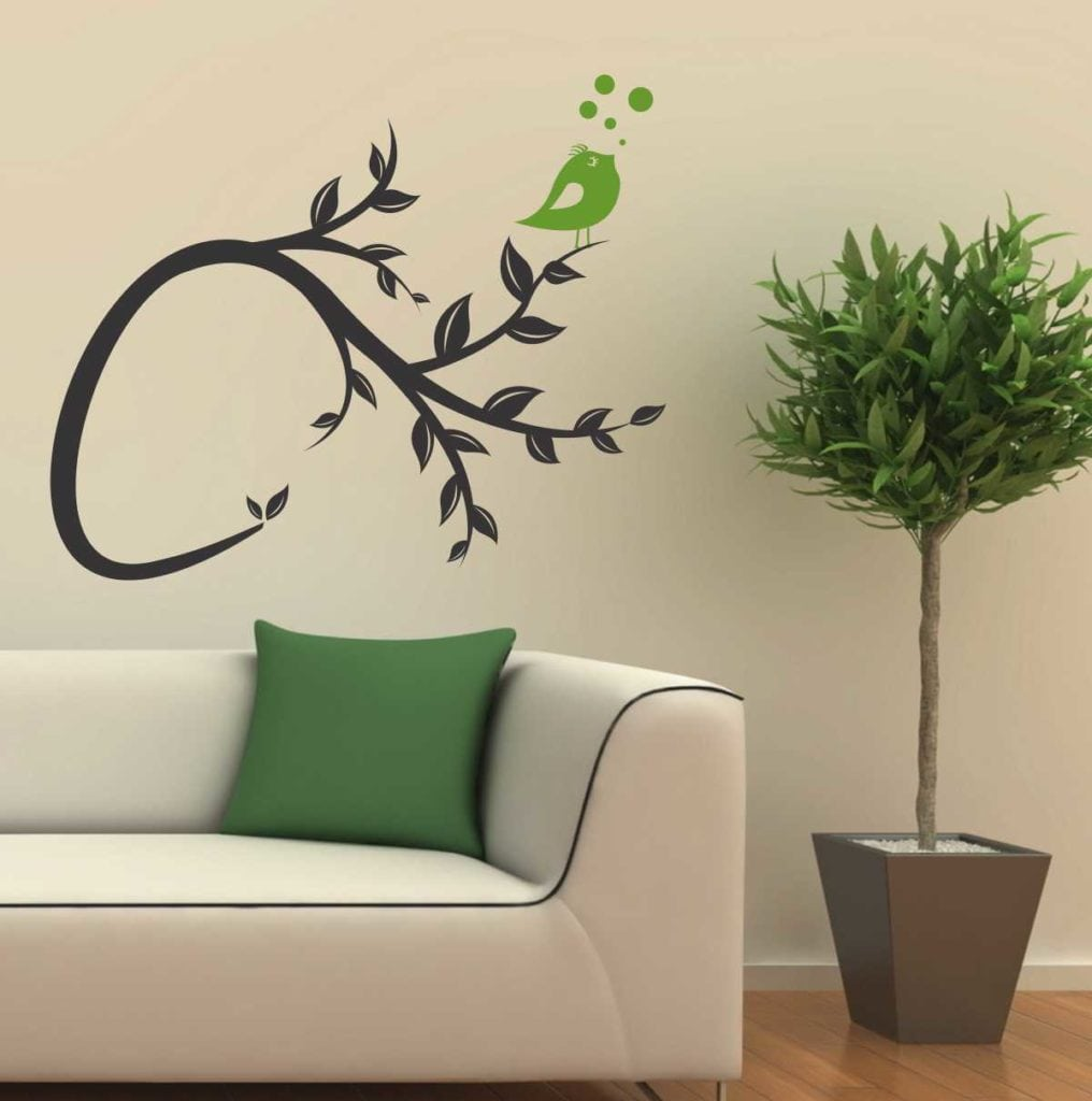 Sticker perete Bird Tree 1