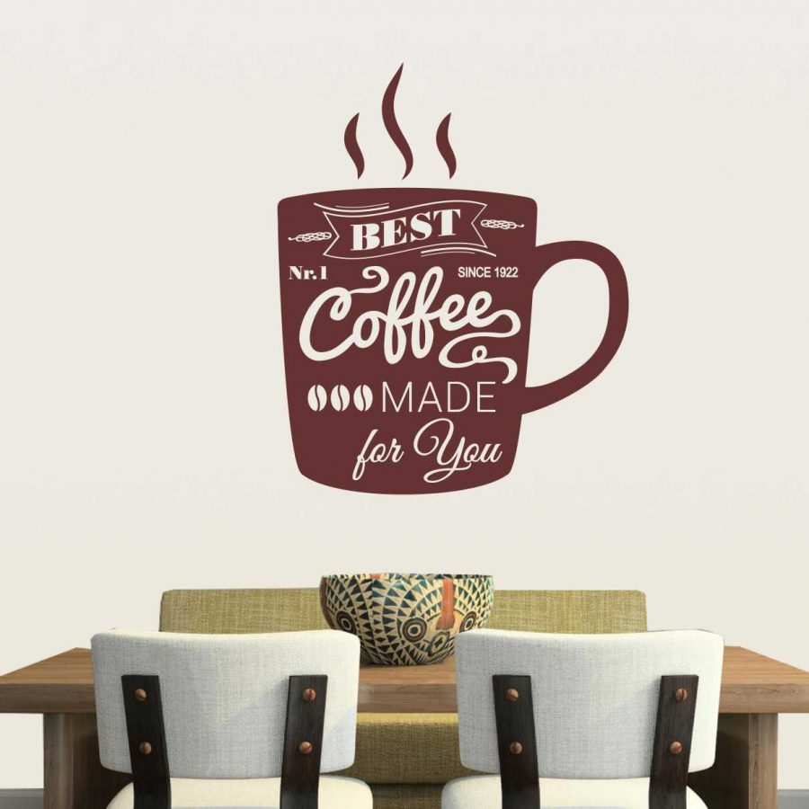 Sticker perete Coffee Cup 1