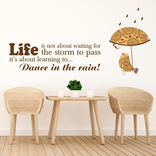 Sticker perete Dance in the Rain 1