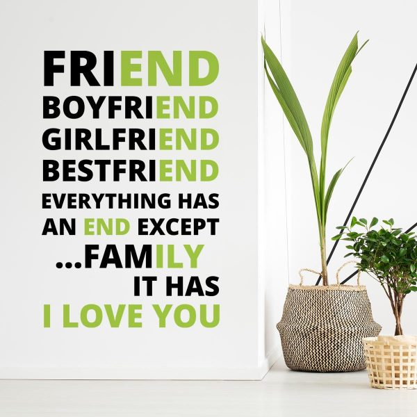 Sticker perete Family Love 1