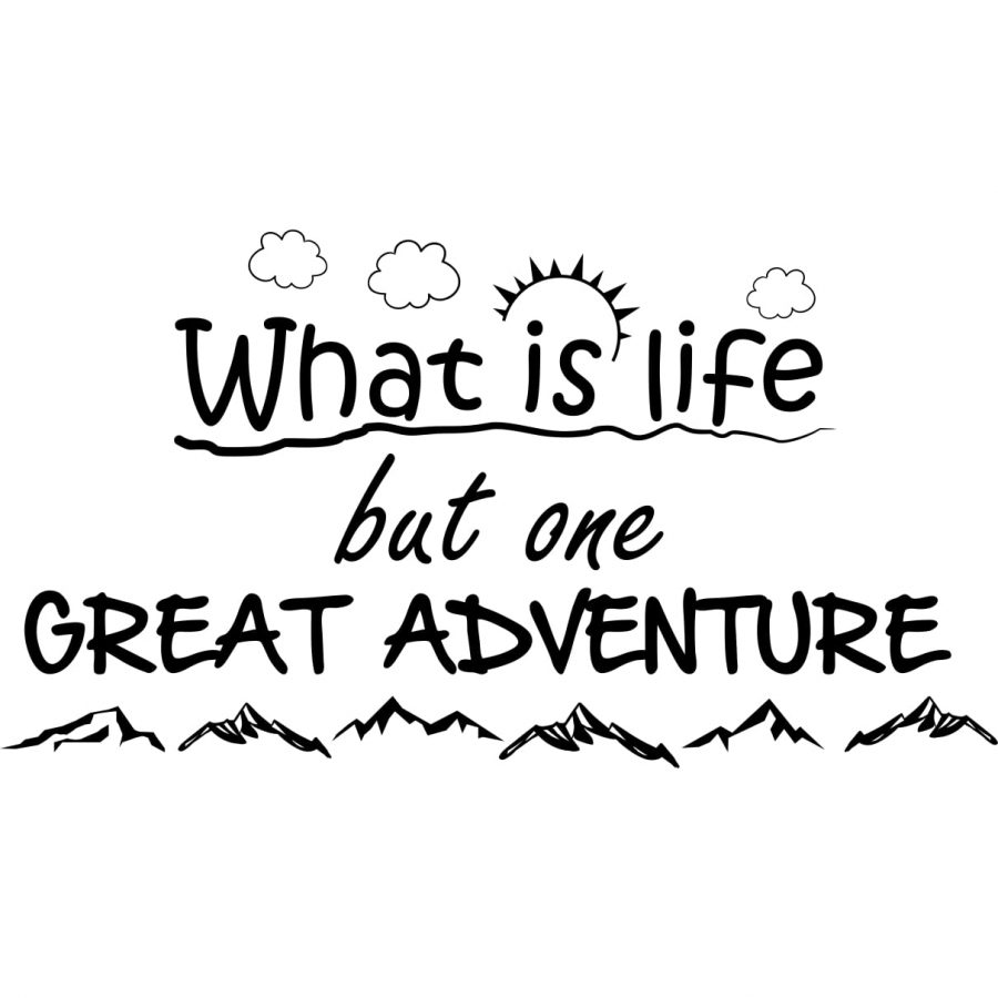 Sticker perete Great Adventure 2