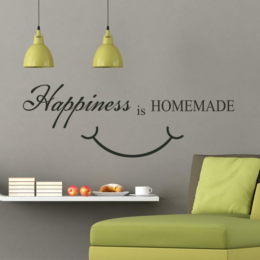 Sticker perete Happiness 1