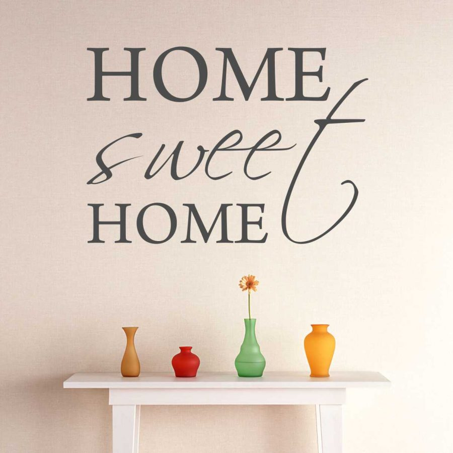 Sticker perete Home Sweet Home 1