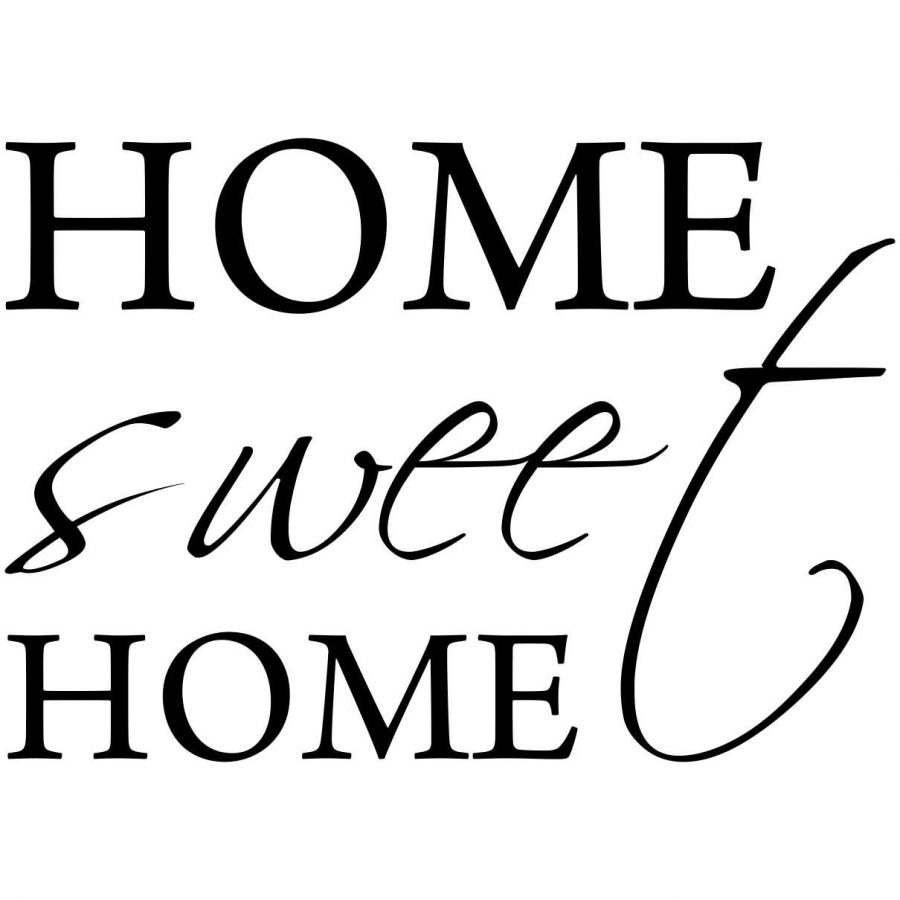 Sticker perete Home Sweet Home 2