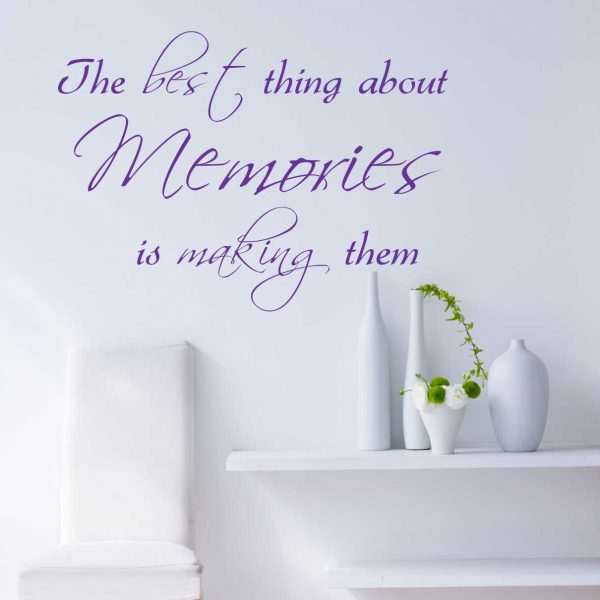 Sticker perete Memories 1