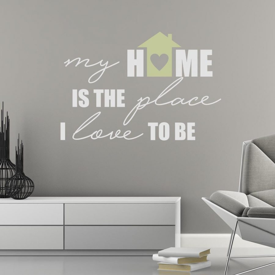 Sticker perete My Home 1