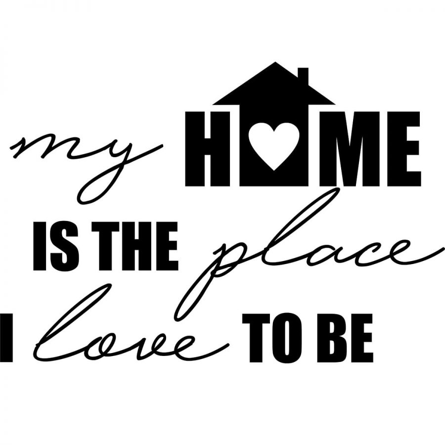 Sticker perete My Home 2