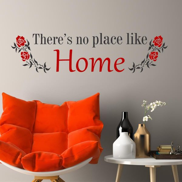 Sticker perete No place like home 1