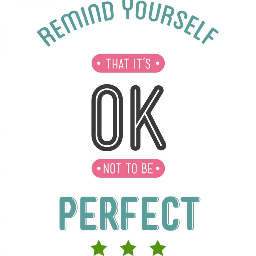 Sticker perete Nobody's Perfect 2