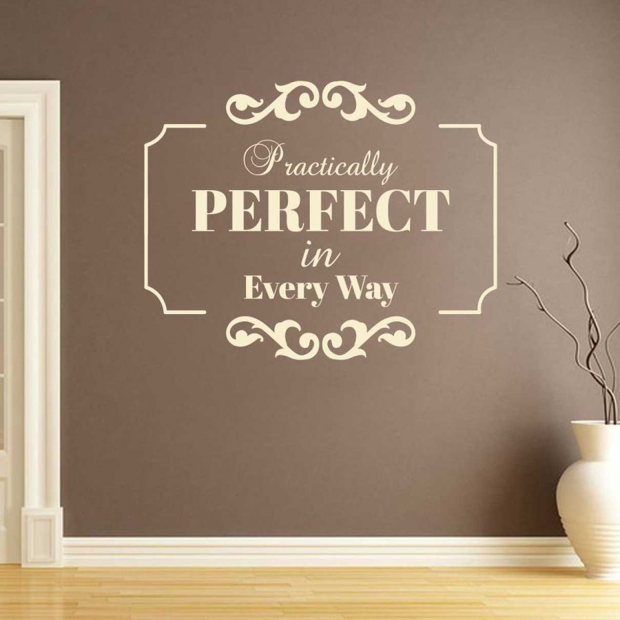 Sticker perete Perfect 1