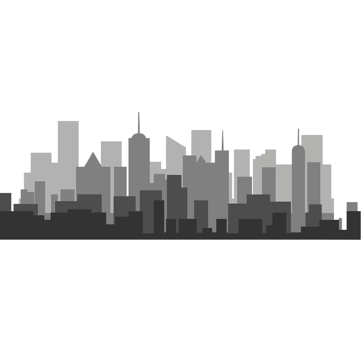 Sticker perete Shades of Grey Skyline 2