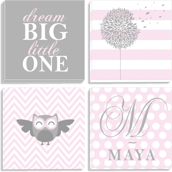 Set tablouri canvas Dream Big