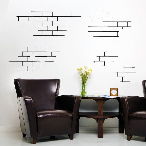 Sticker perete Brick Wall