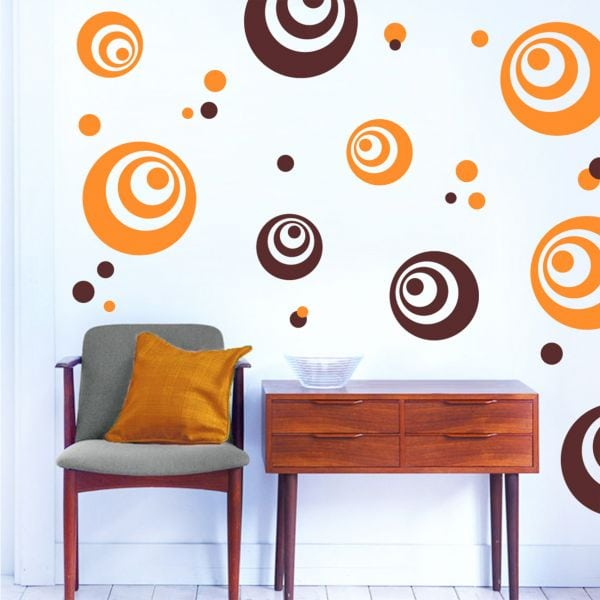 Sticker perete Candy Swirl