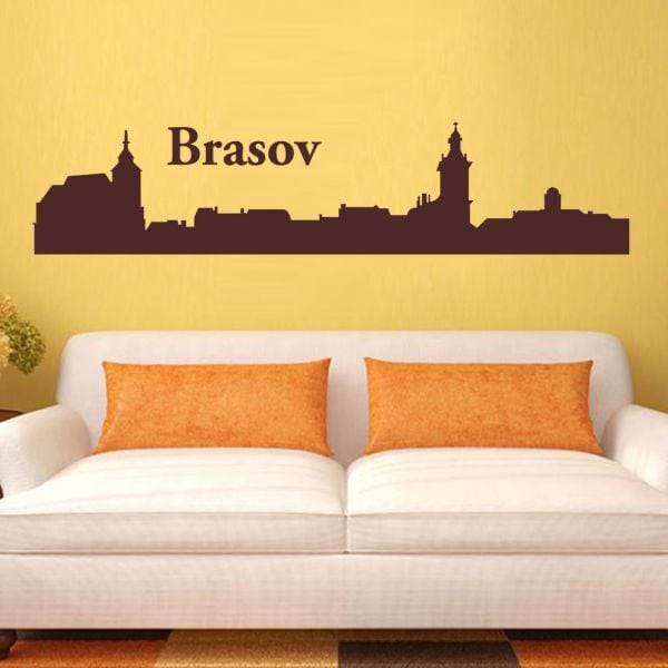 Sticker perete City of Brasov