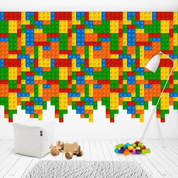 Sticker perete copii Lego Wall