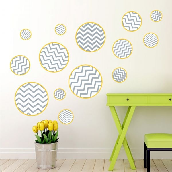 Sticker perete Pattern Circles