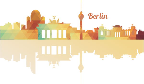 Sticker perete Travel to Berlin